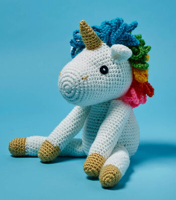 Crochet A Plush Unicorn Toy