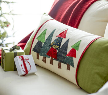 Makers Guide: Quilted Tree Pillow with Sleeve