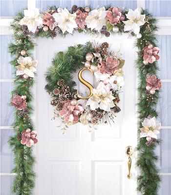 Winter Garland & Wreath