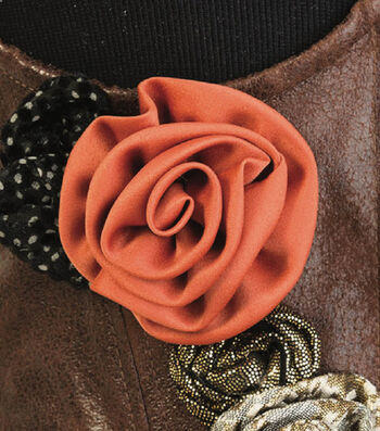 How To Make A Simplicity Fabric Roses