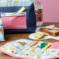How To Make a Reusable Placemat and Utensil Holder