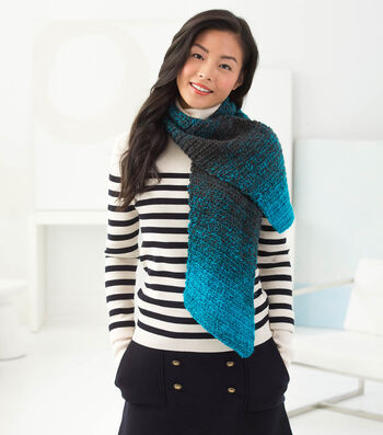 How To Make A Diagonal Crochet Scarf
