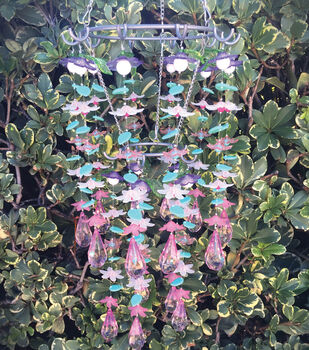 How To Make A Flower Chandelier