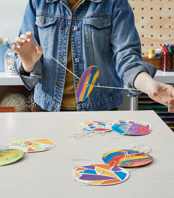 How To Make a Paper Spinners