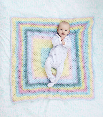 How To Make a Lion Brand Terryspun Parker Baby Blankie