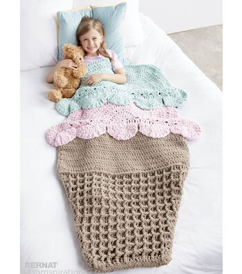 How To Make A Double Scoop Crochet Snuggle Sack