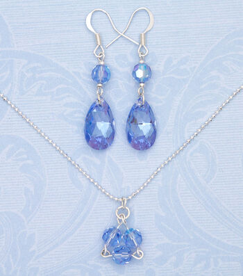 How to Make Swarovski Mother's Infinite Love Necklace & Earrings