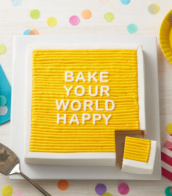 How To Make A Felt Board Cake