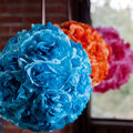 Dyed Coffee Filter Balls