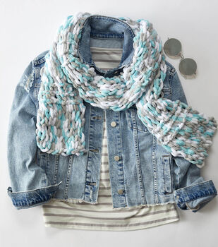 How To Make an Easy Peasy Loop-It Scarf