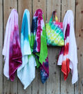 How To Make Summer of Color Tie- Dye Towels