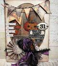 Halloween Cabinet Card by Tim Holtz