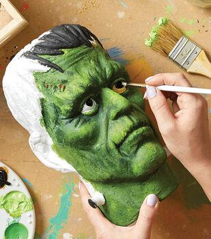 How To Make A Painted Styrofoam Frankenstein Head