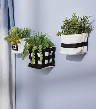 How To Make Painted Floating Plant Baskets
