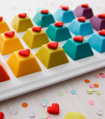 How To Make Colorful Candy Keyboard Gems