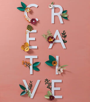 How To Make A Paper Floral Creative Canvas