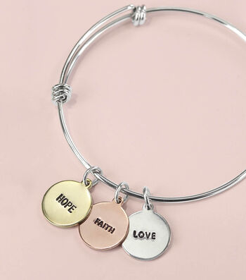 How To Make a Silver Hand Stamped Bracelet