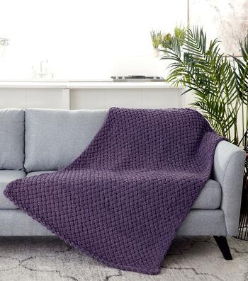 How To Make A Bernat Alize Blanket EZ Criss-Cross Afghan