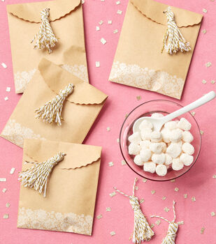 How To Make Tassel Treat Bags