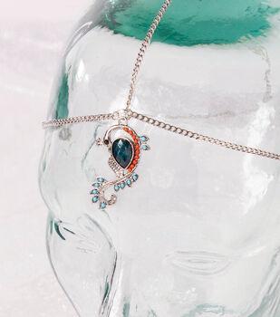 Peacock & Chain Headpeice