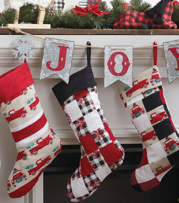 How To Make A Quilted Flannel Stocking