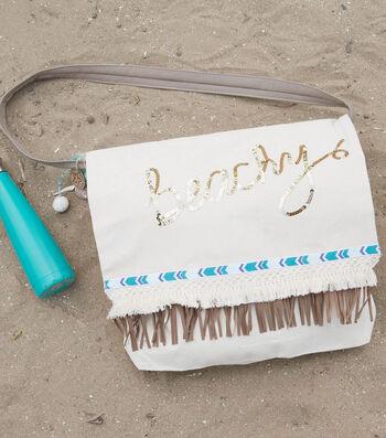 Make A Beachy Canvas Tote Bag