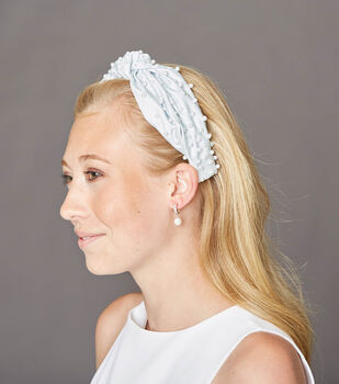 How To Make a Pearl Headband