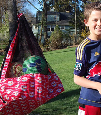 How To Make A MLS Soccer Ball Bag