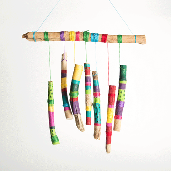 How To Make Stick Wind Chimes