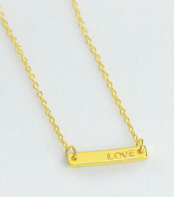 How To Make A Love Bar Necklace