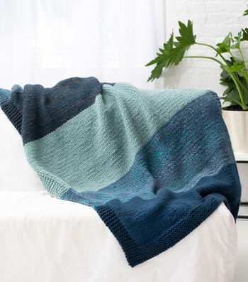 How To Make A Lion Brand Wool-Ease Thick & Quick Bonus Bundle Afghan