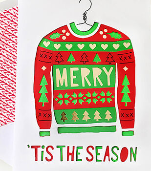 How To Make An Ugly Sweater Card & Envelope