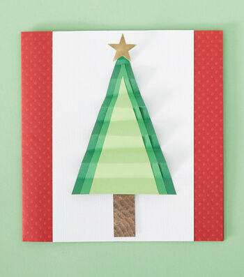 How To Make Pine Tree Cards