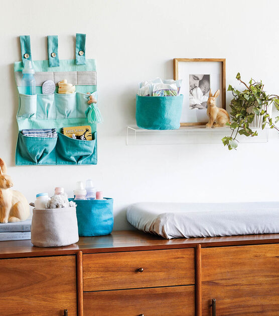 How To Make A Wall Baby Changing Table Organizer Joann