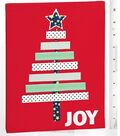 Washi Tape Christmas Tree on Canvas