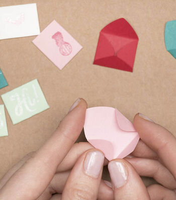 How To Make Make Mini Love Notes & Send Happy Mail