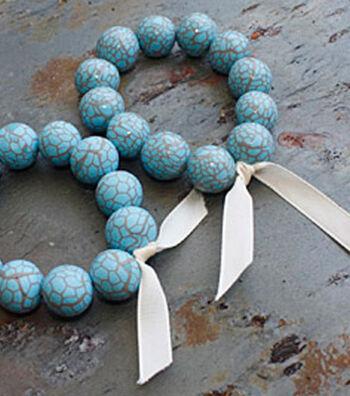 Matrixed Turquoise Bracelet