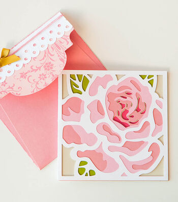 How to Make a Lovely Layers Rose Card
