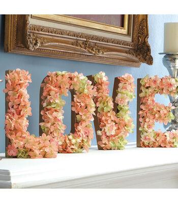 Filled Floral Love Letters