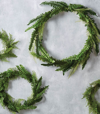 How To Make Embroidery Hoops Wreaths
