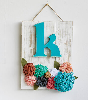 How To Make A Wood Initial Pallet