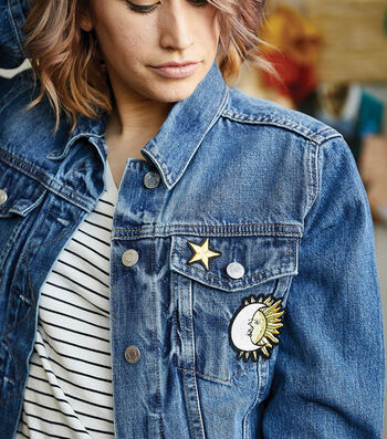 Learn how to Apply Appliques to Jeans and Jean Jacket