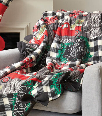How To Make A Fleece Bow Quilt