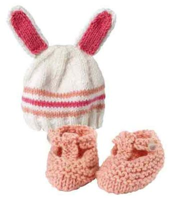 Bunny Hat & Booties