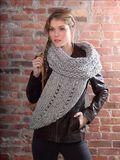 Lion Brand Knit Cowl Wrap