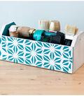 Wooden Craft Supplies Box