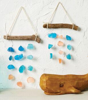 How To Make a Beach Sea Glass Sun Catcher