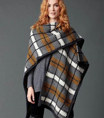How To Make A Crochet Blanket Ruana