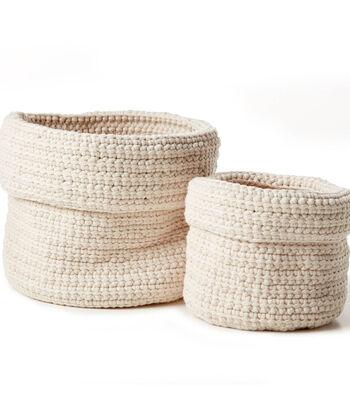 How To Make A Bernat Slouchy Crochet Plant Holder