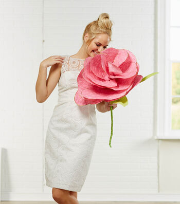 Extra Large Fabric Flowers